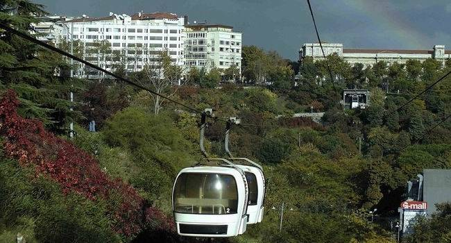 Cable Car & Bosphorus on Boat